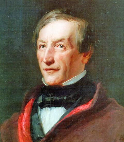 Peter Joseph Lenné um 1850