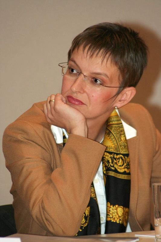 Antje Peters-Reimann – die Betreiberin des Internetportals »Grünwort«